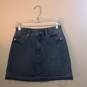 NWT Banana Republic Denim Skirt